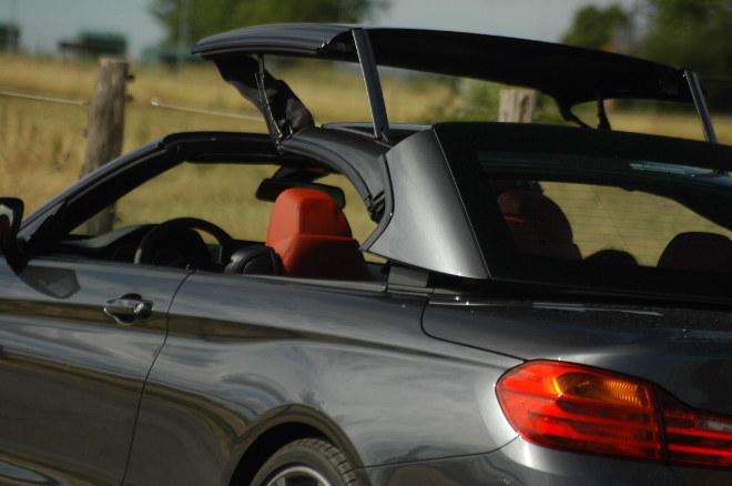 BMW 430d Cabrio Verdeck Test