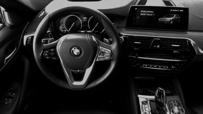 BMW 5er Touring Cockpit Lenkrad 2018
