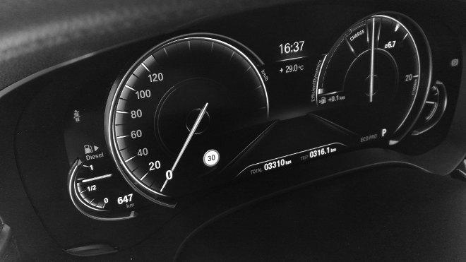 BMW 5er Touring Digitalinstrumente 2018