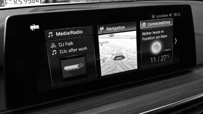 BMW 5er Touring Infotainment