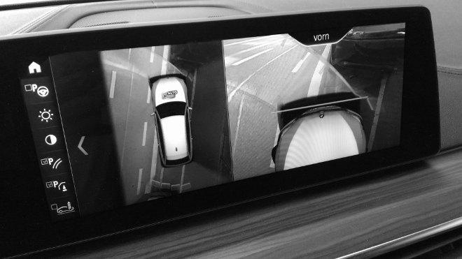 BMW 5er Touring Kamera