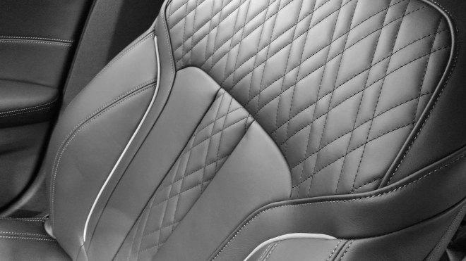 BMW 540d Touring Sitze, Lederausstattung 2018, Leder