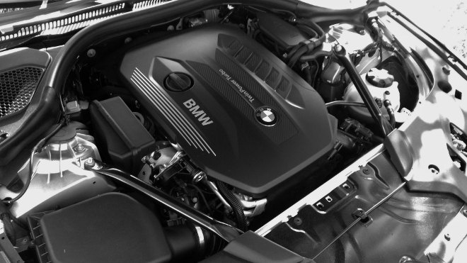 BMW 540d Touring Motor 2018