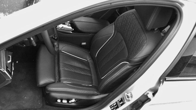 BMW 5er Touring Sitze, Lederausstattung 2018