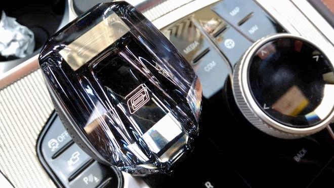BMW 840d Coupe Schathebel der Automatikaus Gla