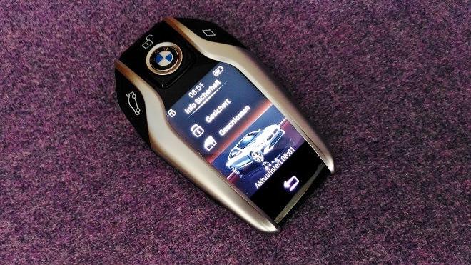 BMW 8er Coupé 840d Front key