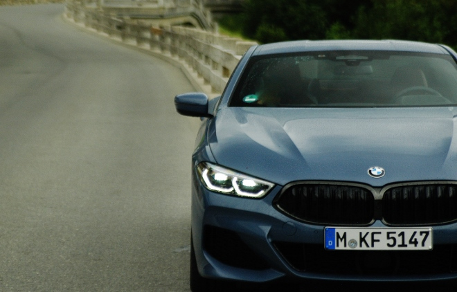 BMW 840d xDrive Coupe front