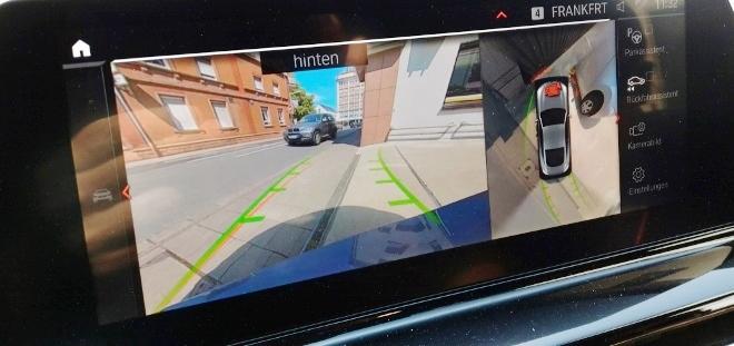 BMW 8er Coupe 360 Grad Kamera, Perspektiven