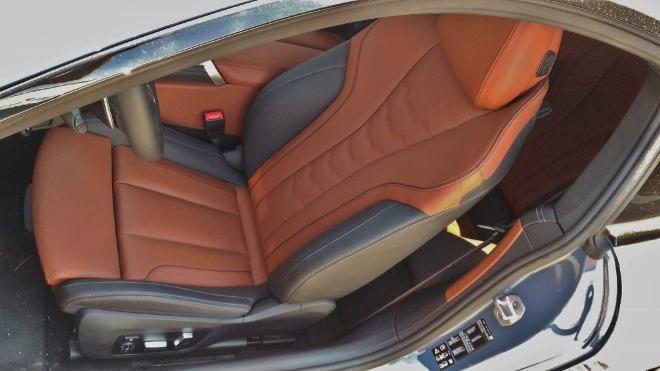 BMW 8er Coupe 840d Ledersitz