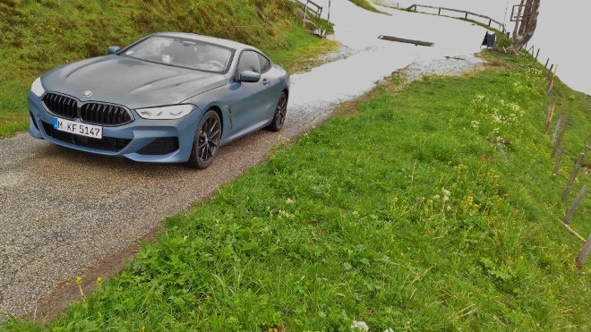 BMW 8er Coupe 840d xDrive Test