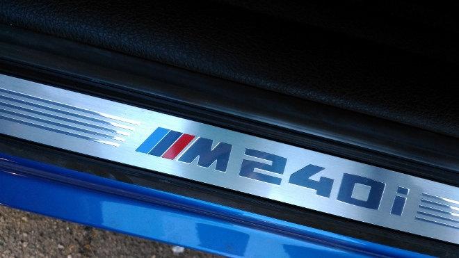 BMW M 240i Schweller
