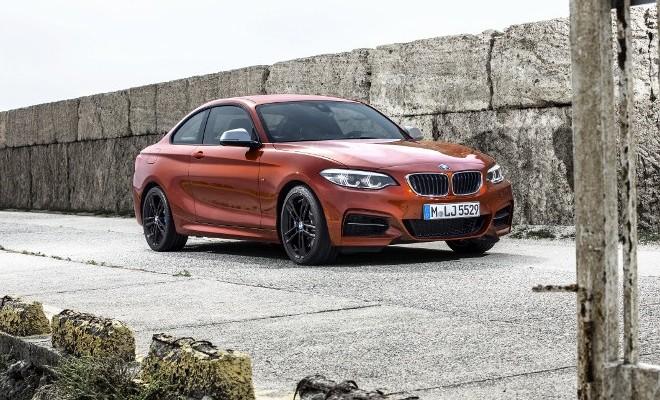 BMW M 240i Front, Seite