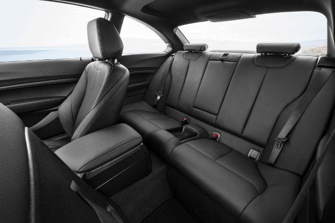 BMW M 240i Sitze hinten