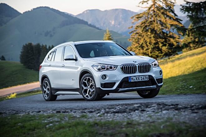 BMW X1 Test, von vorne