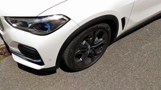 BMW X5 30d Tiefposition der Luftfederung, tief