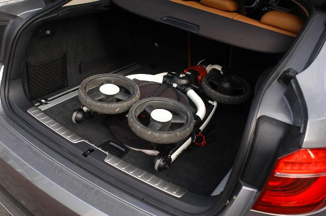 BMW X6 xDrive30d Kofferraum Test