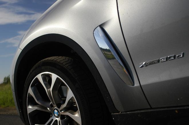 BMW X6 xDrive30d Lufteinlass Test