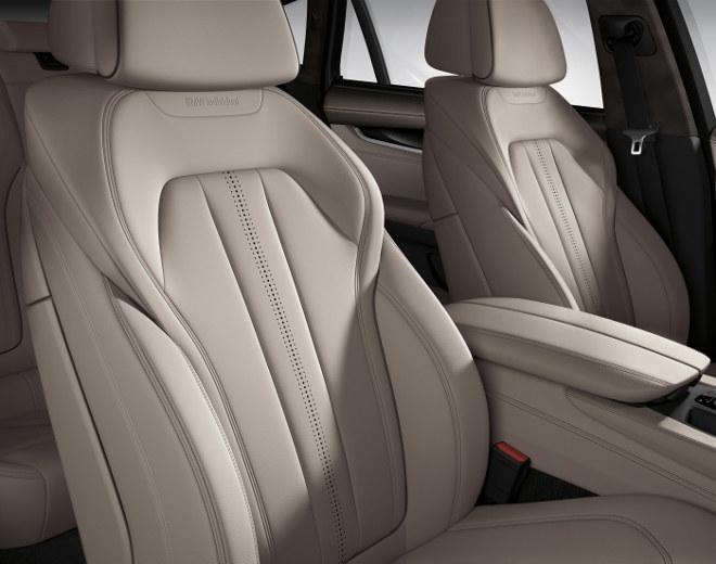 BMW X6 Diesel Sitze, Vordersitze