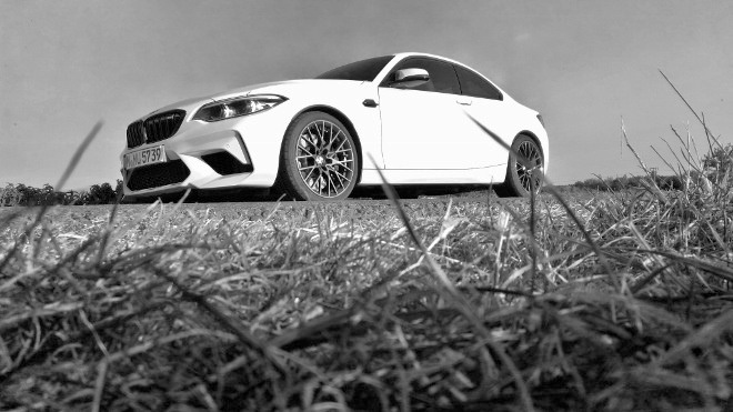 BMW M2 Competition weiss
