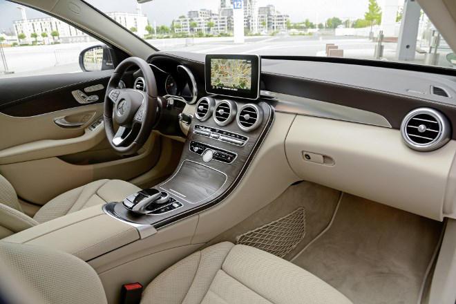 Mercedes C-Klasse Amaturen