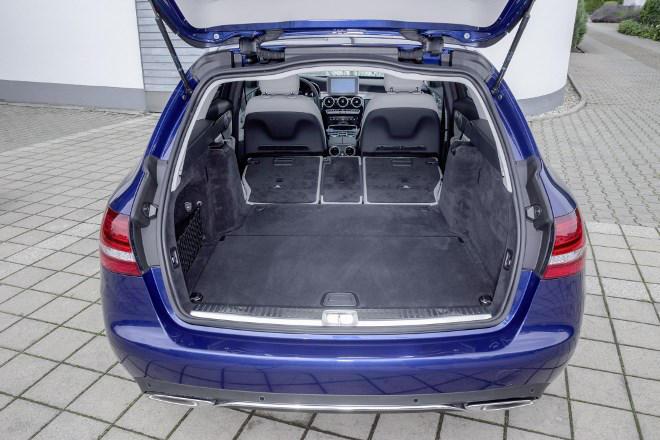 Mercedes C-Klasse T-Modell C 250d Kofferraum