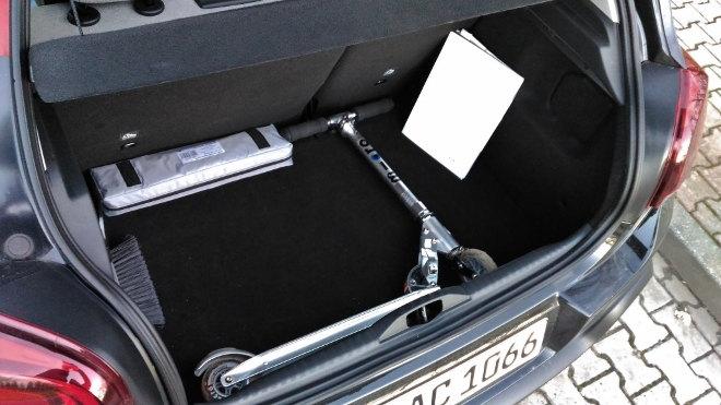 Citroen C3 Kofferraum, Volumen, Gepäckraum