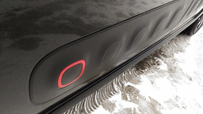 Citroen C3 Bumper, Seitenschutz