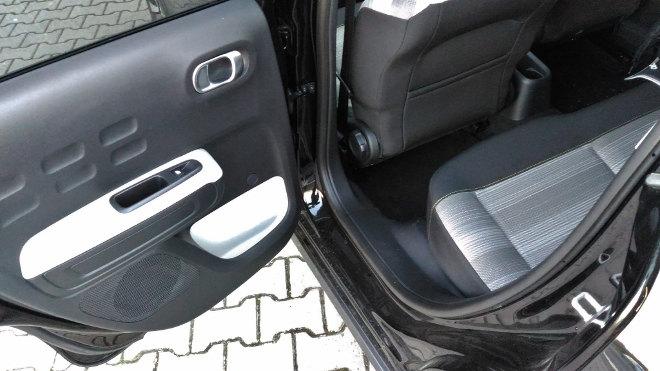 Citroen C3 Sitze hinten