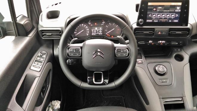 Citroen Berlingo Familienvan: armaturenbrett, Cockpit, Bildschirm