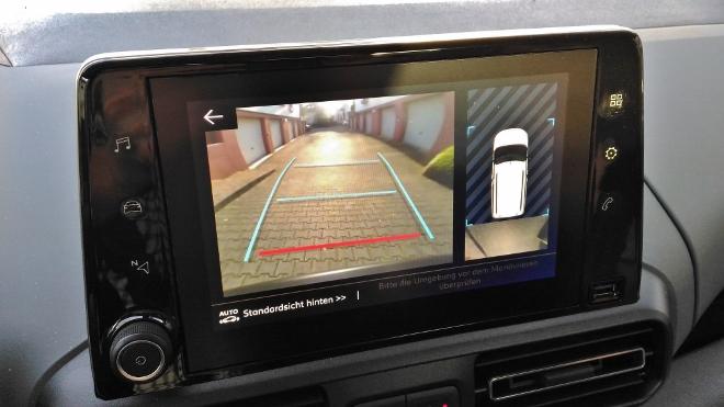 Citroen Berlingo Familienvan: Kamera 360 Grad ums Fahrzeug