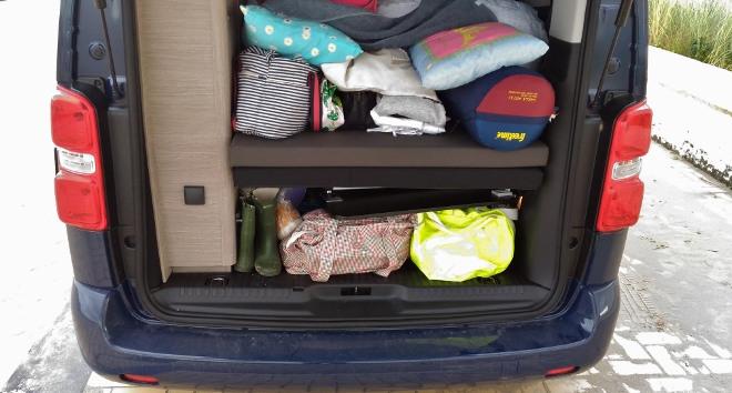 Citroen Campster Wohnmobil Kofferraum