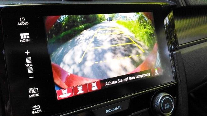Honda Civic Limousine 2017 Kamera