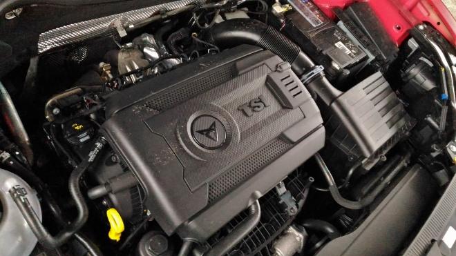 Cupra Ateca 300 PS Motor