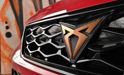 Cupra Ateca 300 PS Emblem Grill