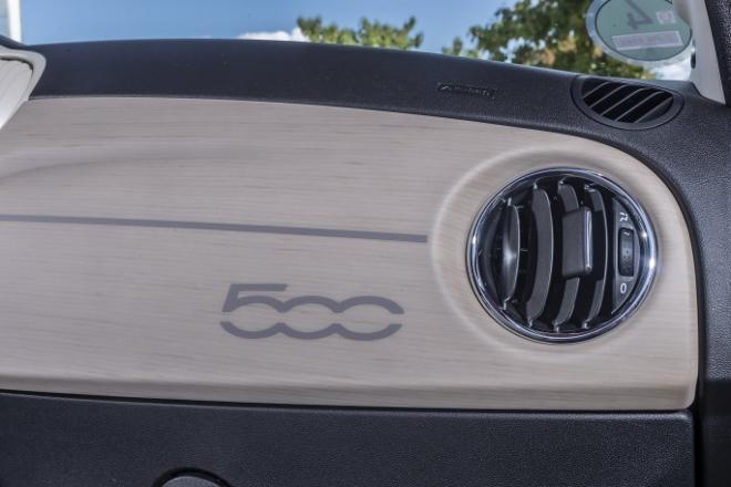 Fiat 500 Dolcevita Sondermodell weiss