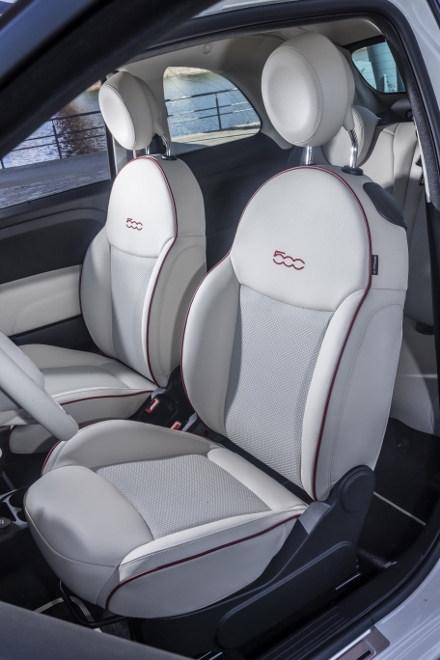 Fiat 500 Dolcevita Sondermodell Sitze