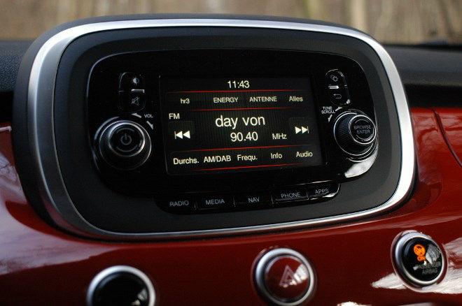 Fiat 500 X 1.6 Monitor