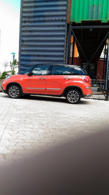 Fiat 500L Cross Facelift 2017 orange