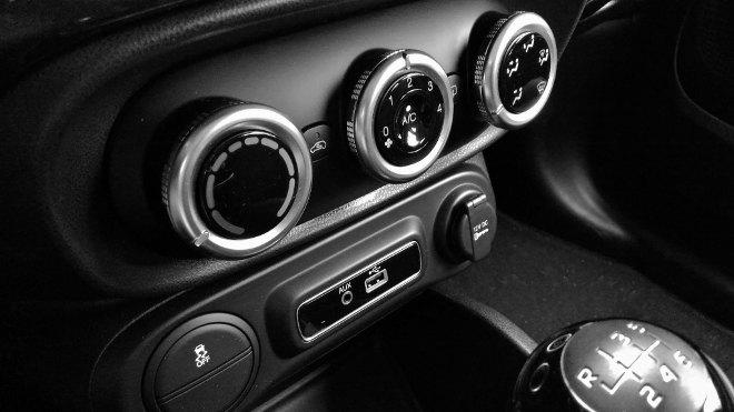 Fiat 500l Klima, AC, Drehregler