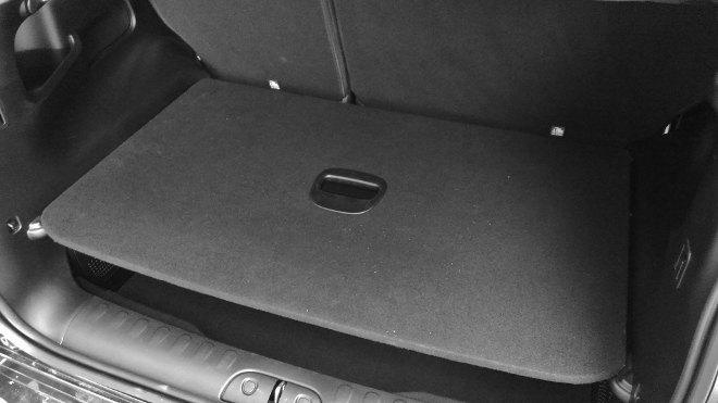 Fiat 500l Kofferraum, Boden obere Position
