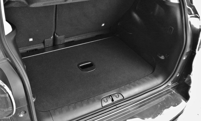 Fiat 500l Kofferraum, Boden untere Position