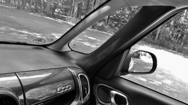 Fiat 500l Übersicht, Sicht, Übersichtlichkeit, A-Säule