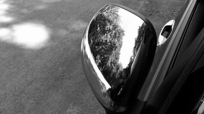 Fiat 500l Mirror, Spiegel, Chrom