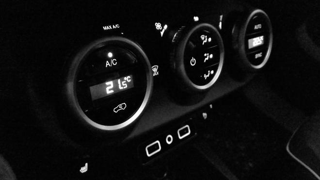 Fiat 500X Facelift Klima