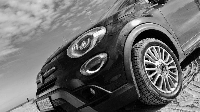 Fiat 500X Facelift Frontpartie