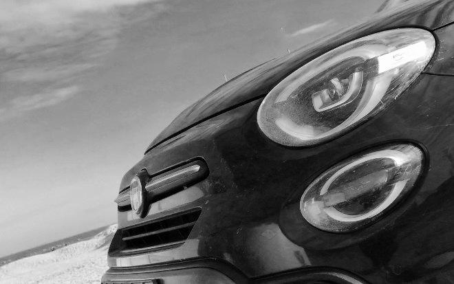 Fiat 500X Facelift Scheinwerfer und Front