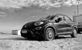 Fiat 500X Facelift von der Seite