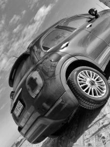 Fiat 500X Facelift Heck