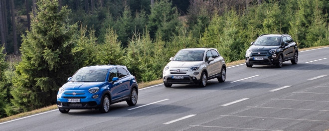Fiat 500 X Facelift neue Modelle 2018