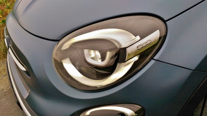 Fiat 500 X Facelift, Scheinwerfer